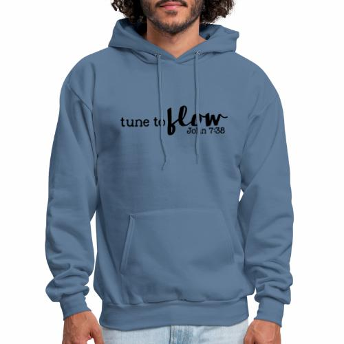 Tune to Flow - Design 3 - Men's Hoodie