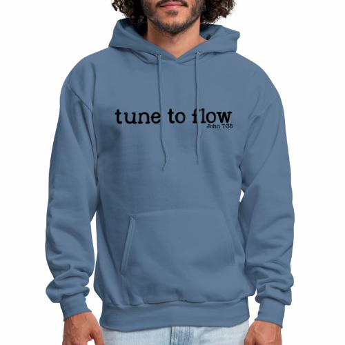Tune to Flow - Design 2 - Men's Hoodie