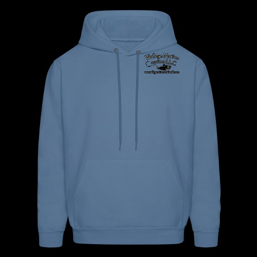 WNC Logo Front and back - Men's Hoodie