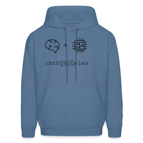Carboncopies T-Shirt (Black) - Men's Hoodie