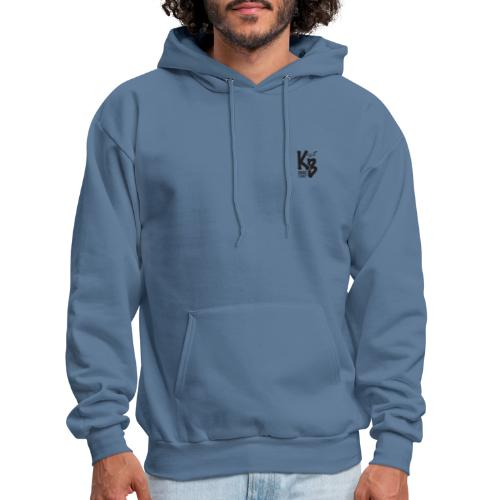 Kure Beach Day-Black Lettering-Front and Back - Men's Hoodie