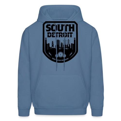 South Detroit Black - Men's Hoodie