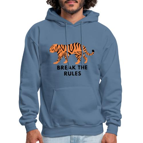 Tiger Print Unisex T-shirts and Hoodies - Men's Hoodie
