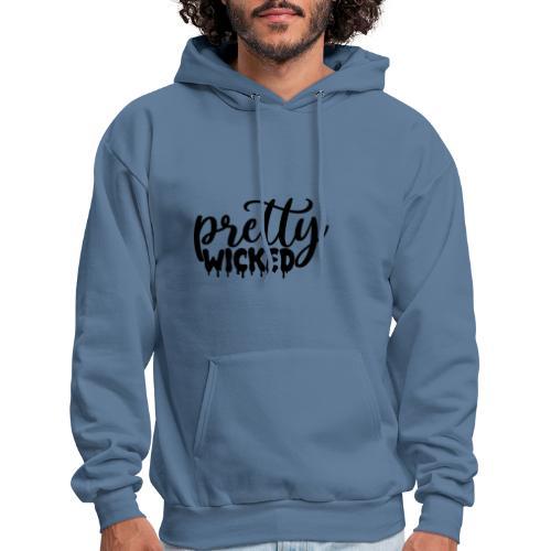 Pop Threads Evil Twin Devil Funny Cute Mens Fleece Hoodie Sweatshirt
