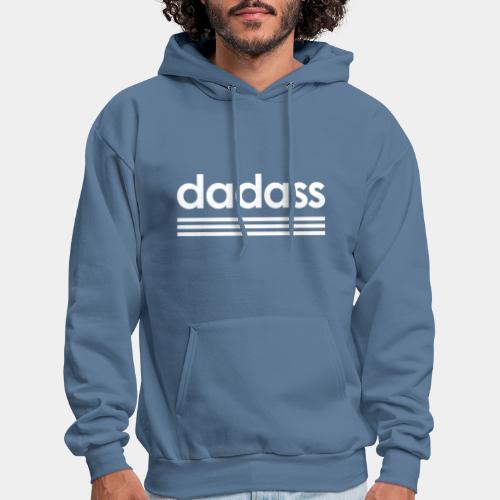 dad dadass badass - Men's Hoodie