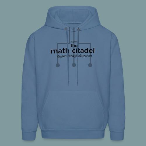 Abstract Math Citadel - Men's Hoodie