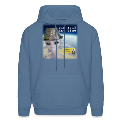 Tin Foil Hat Time (Earth) - Men's Hoodie
