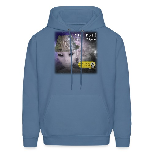Tin Foil Hat Time (Space) - Men's Hoodie