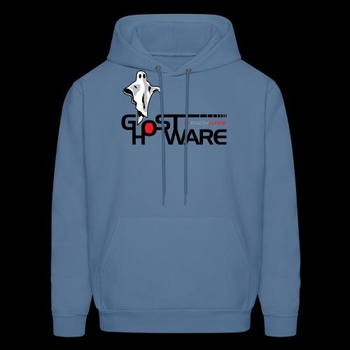 Ghostware Wide Logo - Men's Hoodie