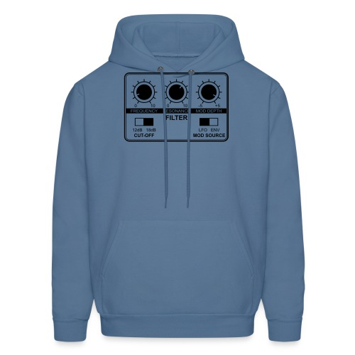 Synth Filter with Knobs - Men's Hoodie