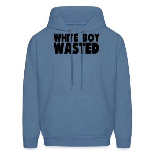 White Boy Wasted - Men's Hoodie