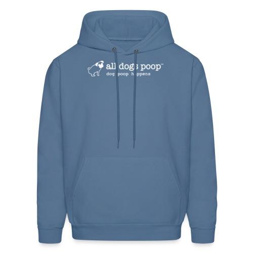 all dogs poop logo 3000px - Men's Hoodie
