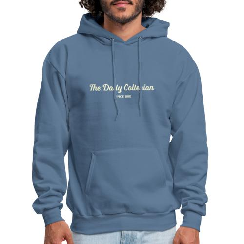 Cursive Writing Daily Collegian Sweatshirt - Men's Hoodie