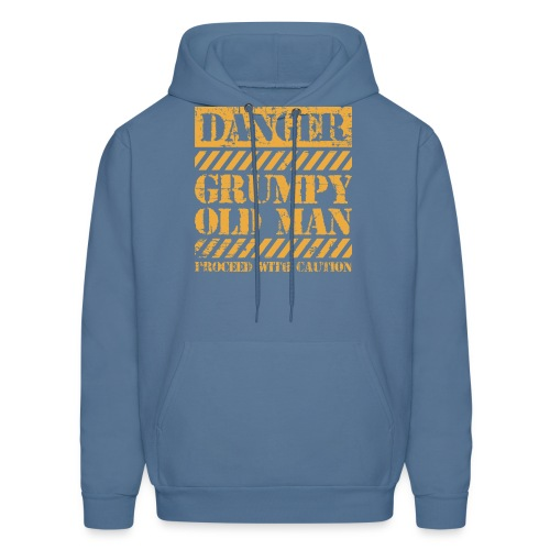 Danger Grumpy Old Man Sarcastic Saying - Men's Hoodie