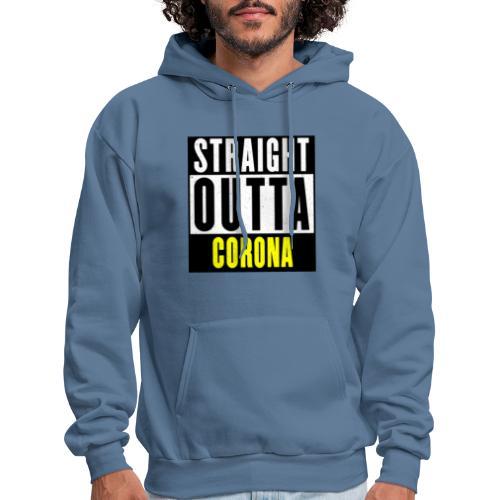 Straight Outta Corona - Men's Hoodie