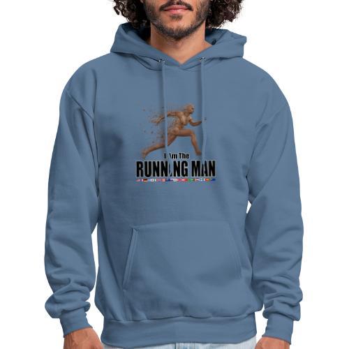 I am the Running Man - Cool Sportswear - Men's Hoodie