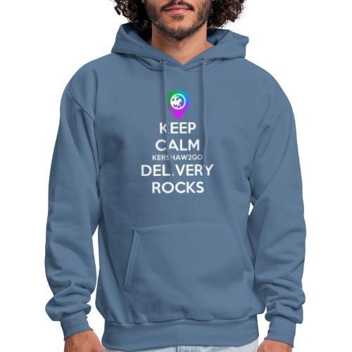 Keep Calm Kershaw2Go Delivery Rocks - Men's Hoodie
