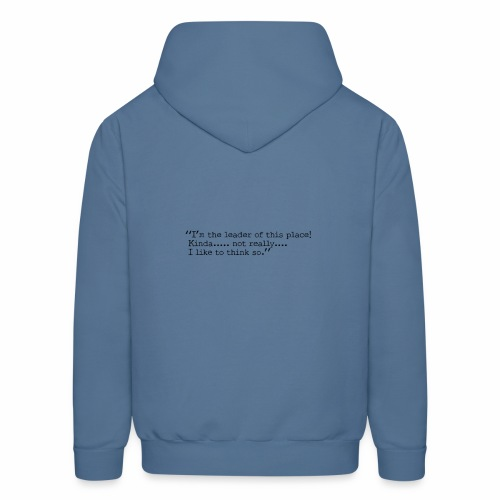 Fox with quote - Men's Hoodie