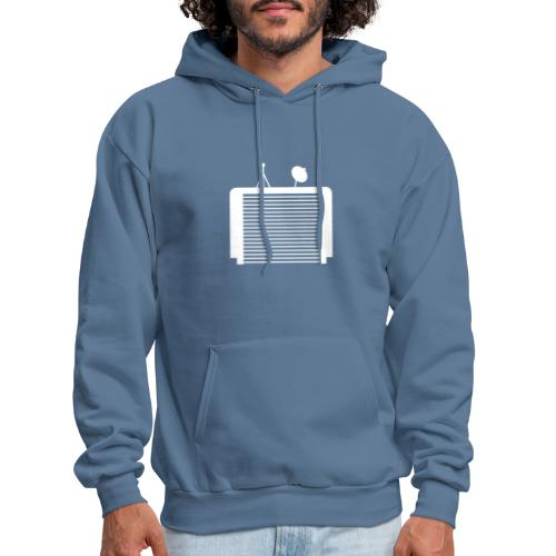 TechGarage White Logo - Men's Hoodie