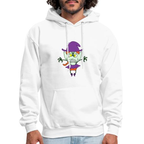 Scary Halloween Witch - Men's Hoodie