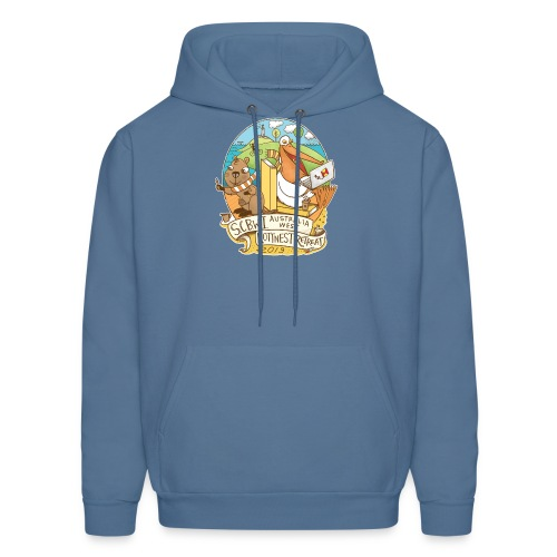 SCBWI Australia West 2019 Rottnest Retreat - Men's Hoodie