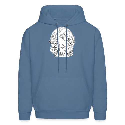 SCBWI Australia West - 2019 Rottnest Retreat: grey - Men's Hoodie