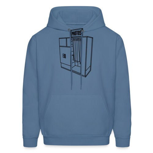 Photobooth.net T-Shirt with Logo and Name - Men's Hoodie