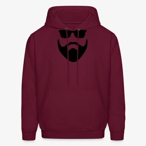 Beard & Glasses - Men's Hoodie