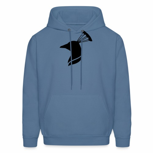 peacock head - Men's Hoodie