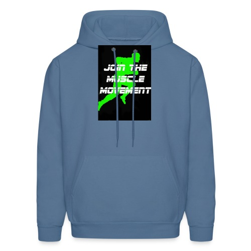 muscle movement - Men's Hoodie