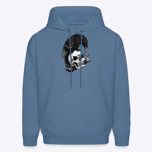 Skull Crow - Men's Hoodie