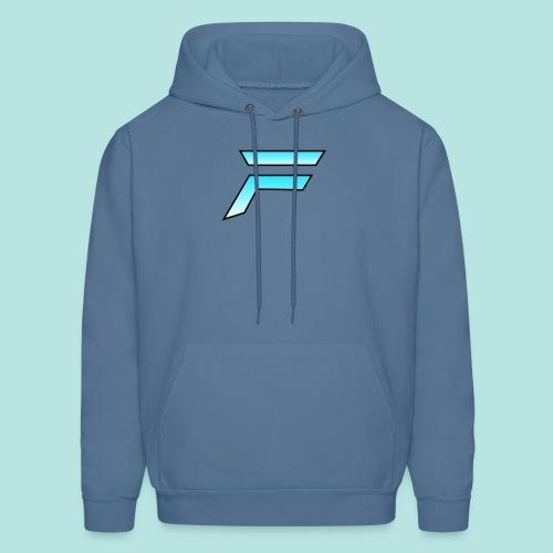 #furytfup Fade sharp logo - Men's Hoodie