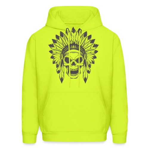 Indian skull - Men's Hoodie
