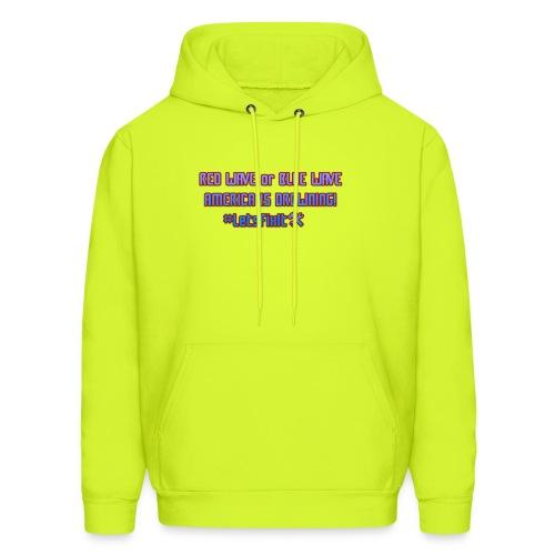 America Is Drowing T-Shirt, #LetsFixIt - Men's Hoodie