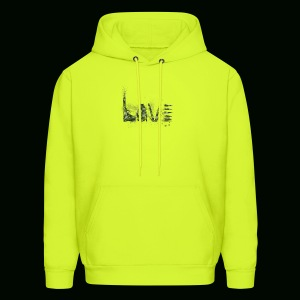 Love and War - Army - Men's Hoodie