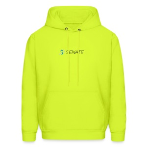 Color-Logo-with-Text - Men's Hoodie