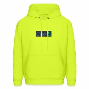 GeloC Rectangle Gray Logo - Men's Hoodie