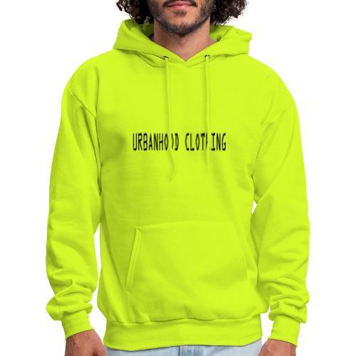 URBN HOOD BLK lettering - Men's Hoodie