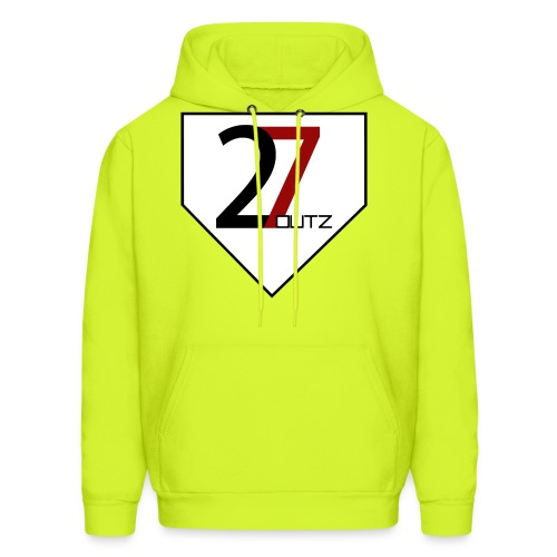 27 Outz - Home Plate - Men's Hoodie