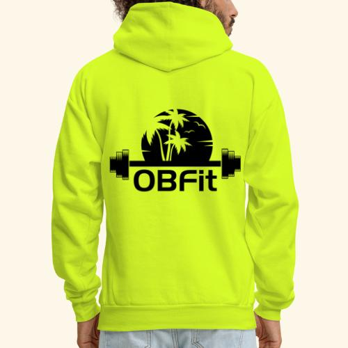 OB Fit Black - Men's Hoodie
