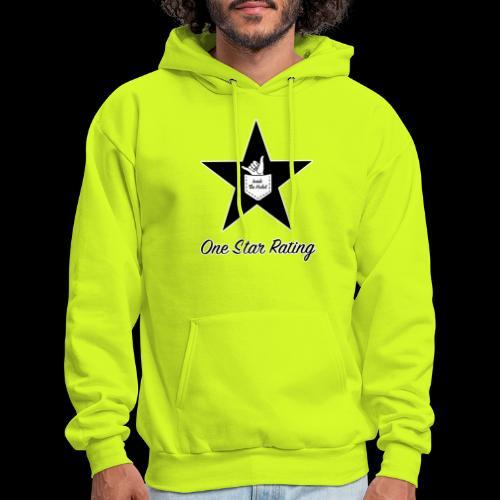 One Star Rating - Men's Hoodie