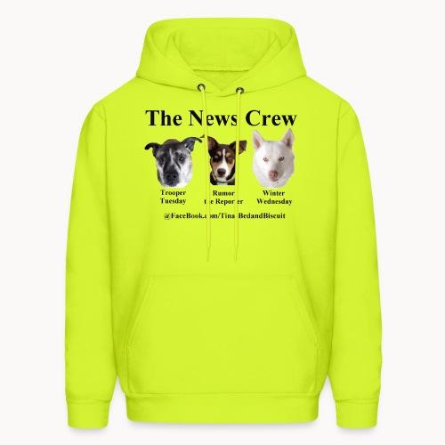 NewsCrew - Men's Hoodie