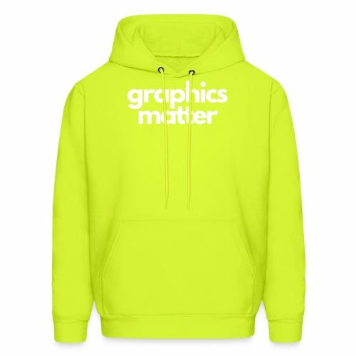 graphics matter-white - Men's Hoodie