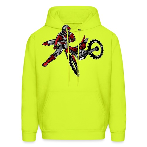 Freestyle Dirt Biker - Men's Hoodie