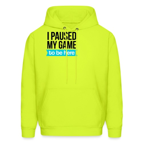 I Paused My Game - Men's Hoodie