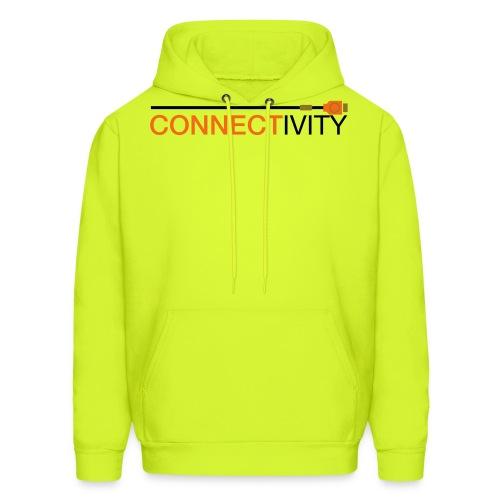 connectivity logo - Men's Hoodie