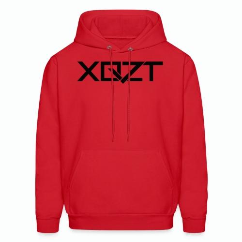 #XQZT Logo Ultra Noir - Men's Hoodie