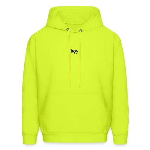 boy. - Men's Hoodie