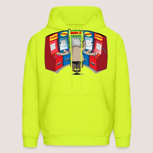 THE GAMBLIN' GRANNY - Men's Hoodie