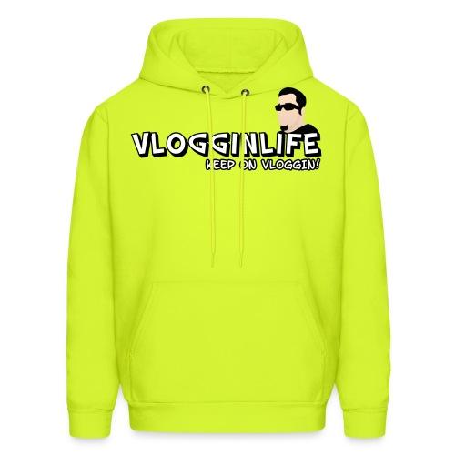 3XL/4XL Vlogginlife Hoodies - Men's Hoodie